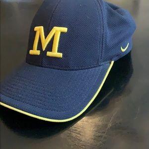 Michigan Nike fitted baseball hat